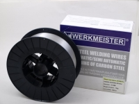 Metināšanas stieple WERKMEISTER SG-2 bez kapara pārklājumu 0.8mm 15kg  IZPĀRDOŠANA