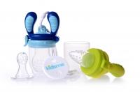 Akcija! Kidsme Food Feeder Starter Pack komplekts, Lime/Aquamarine 160362 LIAQ