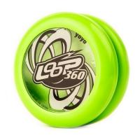 Akcija! YoYoFactory YO-YO LOOP 360 rotaļlieta iesācējiem ar iemaņām, zaļš YO 124