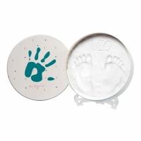 Jaunums! Baby Art Magic Box Essentials komplekts mazuļa pēdiņu/rociņu nospieduma izveidošanai 3601094200