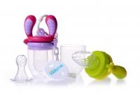 Akcija! Kidsme Food Feeder Starter Pack komplekts, Lime/Lavender 160362 LILA