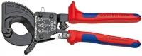 Kabeļu grieznes ar spēka mehānismu D32mm/240mm2 Cu+Al, Knipex
