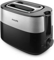 PHILIPS Daily Collection Tosteris, 830 W (melns) HD2516/90
