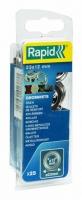 Gredzeni 12X23mm Blist. 25 gab.+ montāžas instruments, Rapid