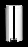 BRABANTIA atkritumu tvertne ar pedāli NewIcon, 45 l, Brilliant Steal 428425