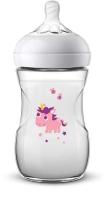 Jaunums! Philips Avent barošanas pudelīte Natural Unicorn 260 ml, lēnas plūsmas knupītis, 1m+ SCF070/25