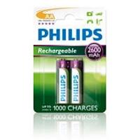 PHILIPS ak.bater. MULTILIFE 2600mAh, 2 gab R6B2A260/10
