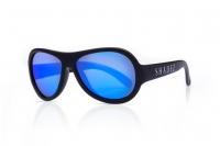 Akcija! SHADEZ Classic Black Teeny bērnu saulesbrilles, 7-15 gadi SHZ 03