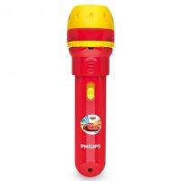 """Philips Disney """"Cars"""" LED projektors un lukturītis, sarkans (baterijas iekļautas) 717883216"""