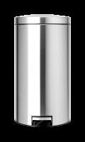 BRABANTIA atkritumu tvertne ar pedāli, Motion Control, 45 l, Matt Steel FPP 424205