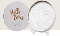 Jaunums! Baby Art Magic Box Shiny Vibes komplekts mazuļa pēdiņu/rociņu nospieduma izveidošanai 3601094100