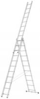 Trīsdaļīgās universālās kāpnes, 3x11 pakāpieni, ALPE