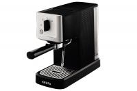 KRUPS Manuālais espresso kafijas automāts,15bar, melna/sudrabaina XP3440