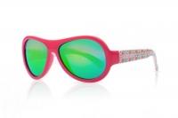 Akcija! SHADEZ Designer Leaf Print Pink Junior bērnu saulesbrilles, 3-7 gadi SHZ 51