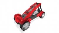 Akcija! Juguetronica VEX CAR RACER Sacīkšu automašīna konstruktors 120 gab 406-4577