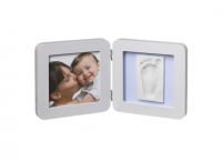 Baby Art Print Frame komplekts mazuļa pēdiņu/rociņu nospieduma izveidošanai, pastel 34120138
