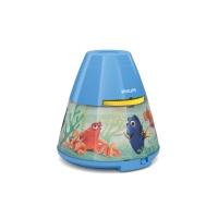"(V) Izpārdošanas cena! Philips Disney ""Finding Dory"" LED projektors un nakts gaismiņa 717699016"