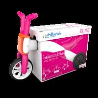 Akcija! Chillafish Bunzi līdzsvara velosipēds - transformers pašiem mazākajiem 2-in-1, rozā, no 1 līdz 3 gadiem CPBN01PIN