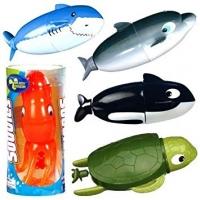 (V) Izpārdošanas cena! TOYSMITH SUPER SUBBIES rotaļlieta vannas peldēm SUPER-SUBBIE