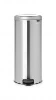 BRABANTIA atkritumu tvertne ar pedāli NewIcon, 30 l, Matt Steel 114380