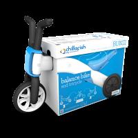 Akcija! Chillafish Bunzi līdzsvara velosipēds - transformers pašiem mazākajiem 2-in-1, zila, no 1 līdz 3 gadiem CPBN01BLU