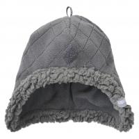 Lodger Hatter Fleece Scandinavian cepure, 6-12 mēn., Coal HT 577_6-12