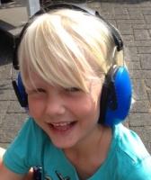 Jippie's trokšņus slāpējošas austiņas bērniem, zilas 858514