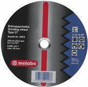Griezējdisks metālam 125x1,6x22 mm, A46-T, Metabo
