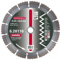 Dimanta griezējdisks 230x22,23 mm, professional, UP, Metabo