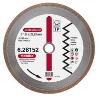 Dimanta griezējdisks 125x22,23 mm, profesionālais, TP, Metabo