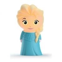 Akcija! Philips Disney SoftPal Frozen-Elsa led nakts gaismiņa, ar baterijām 717680316