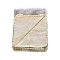 Izpārdošanas cena! Lodger Dreamer Honeycomb kokvilnas sedziņa, Ivory, 75x100 DM 069