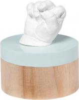 Jaunums! Baby Art My Very 1ST 3D Sculpture on stand komplekts mazuļa pēdiņu/rociņu nospieduma izveidošanai 3601096500