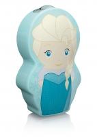 "(V) Izpārdošanas cena! Philips Disney ""Elsa"" LED nakts lukturītis, zils 717673716"