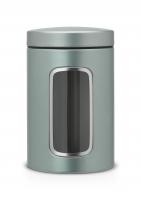 BRABANTIA kārba ar lodziņu, 1,4 l,Metallic Mint 484360