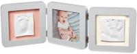 Jaunums! Baby Art Double 2P Essentials komplekts mazuļa pēdiņu/rociņu nospieduma izveidošanai, pastel 3601095300