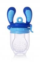 Kidsme Food Feeder bērna ēdināšanas ierīce cietiem produktiem (liels), Aquamarine, no 6 mēn. 160337AQ