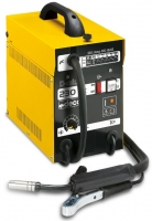 Metināšanas iekārta pusautomāts D-MIG 230AC 1x230V, 2.3kW, 90-130A, metināšanai ar pulverstiepli