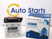 99 x 57 x 107, - +, Akumulators EXIDE 6V 6Ah 40A(EN