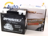183 x 78 x 171, - +, Akumulators DYNAVOLT MG52113 = IntAct K-GEL51913 12 V 21 AH BMW ar ABS