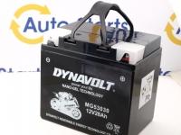 187 x 130 x 171, - +, Akumulators DYNAVOLT GEL 12V 30Ah C60-N30L-A (53030