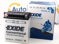 135 x 81 x 162, - +, Akumulators EXIDE BIKE 12V 12Ah 165A(EN