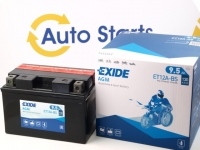 150 x 87 x 105, + -, Akumulators EXIDE Bike AGM 12V 9.5Ah 130A(EN) YTX12A-BS K-51013