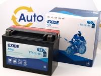 175 x 87 x 130, - +, Akumulators EXIDE 12V 13Ah 210A(EN