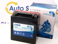150 x 87 x 161, + -, Akumulators EXIDE BIKE AGM 12V 18Ah 270A(EN) YTX20CH-BS, K-82002