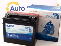 176 x 87 x 155, - +, Akumulators EXIDE BIKE AGM 12V 18Ah 270A(EN) YTX20HL-BS, K-82003