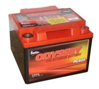 "Akumulators Odyssey PC925, 12V 28Ah C20, 27Ah C10, 169x179x128,  M6 vītne vai A-Pol 3/8"" ligzda"