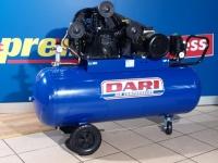 Kompresors DARI MISTRAL 150/W4-4T 400V, 3 kw, 545 l/min, 150 l XXX