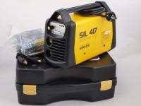 MMA metināšanas iekārta invertors DECA SIL417 230V 4.5kW 10-170A, ar piederumiem IZPĀRDOŠANA