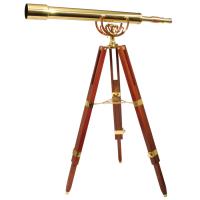 Fine Brass 80/40 Interjera Teleskops